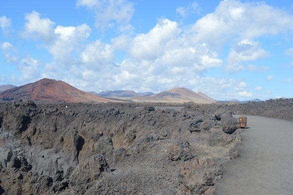 lanzarote krajobraz wulkaniczny