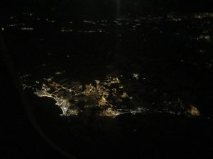 hiszpania z samolotu