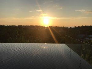 azja zachód słońca