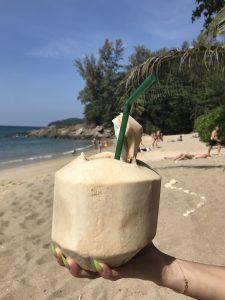 Tajlandia Phuket kokosy