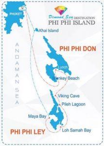 wycieczka na wyspy Phi Phi