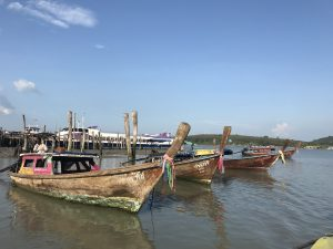 tajlandia wyspy longboat