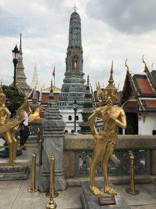 bangkok wielki pałac posągi