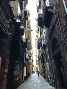 Neapol atrakcje uliczki