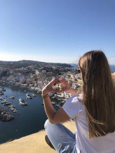 procida punkt widokowy na morzu tyrreńskim