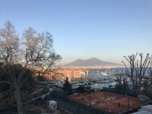Neapol widok na zatokę