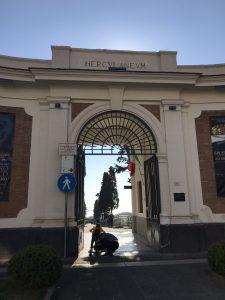 Wejście do Herkulanum