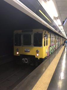 Metro w Neapolu.
