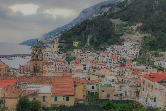 Amalfi punkt widokowy