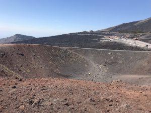 etna nieczynny krater