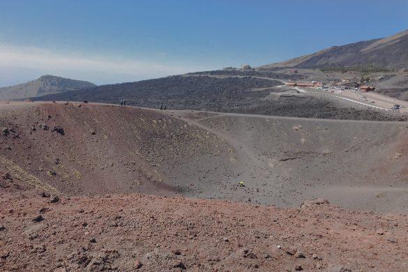 etna wulkan