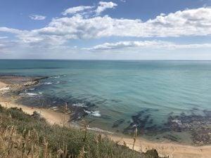 sycylia widok na morze