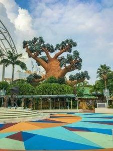 universal studios singapore strefy