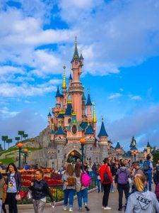 zamek śpiącej królewny