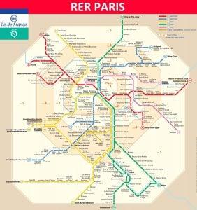 paryż pociągi