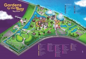 gardens by the bay mapa