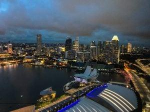 singapur taras widokowy