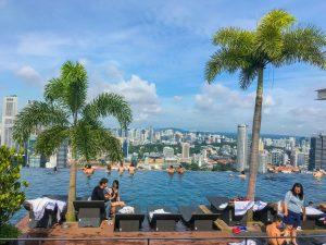 singapur marina bay sands basen
