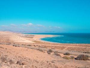 fuerteventura mirador del salmo plaże