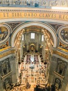 widok bazylika św. piotra