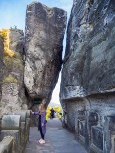 szwajcaria saksońska most skalny bastei