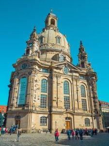 drezno barokowe miasto