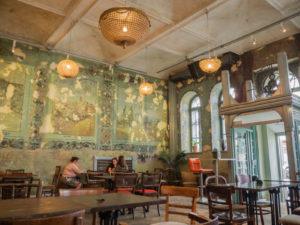 restauracja w dawnej synagodze