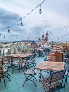 kawiarnia na dachu w krakowie