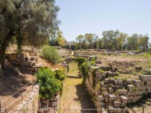 syrakuzy park archeologiczny amfiteatr