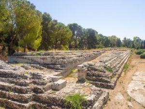 syrakuzy park archeologiczny ołtarz hierona