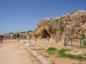 zwiedzanie parku archeologicznego