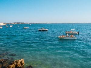 morze jońskie łódki
