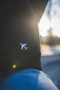 ubrania z samolotem