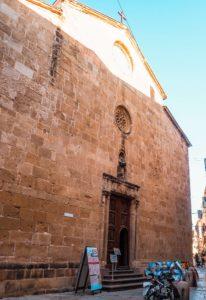kościół franciszkanów na sardynii