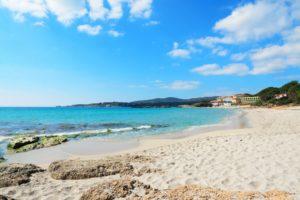 plaża w pobliżu alghero