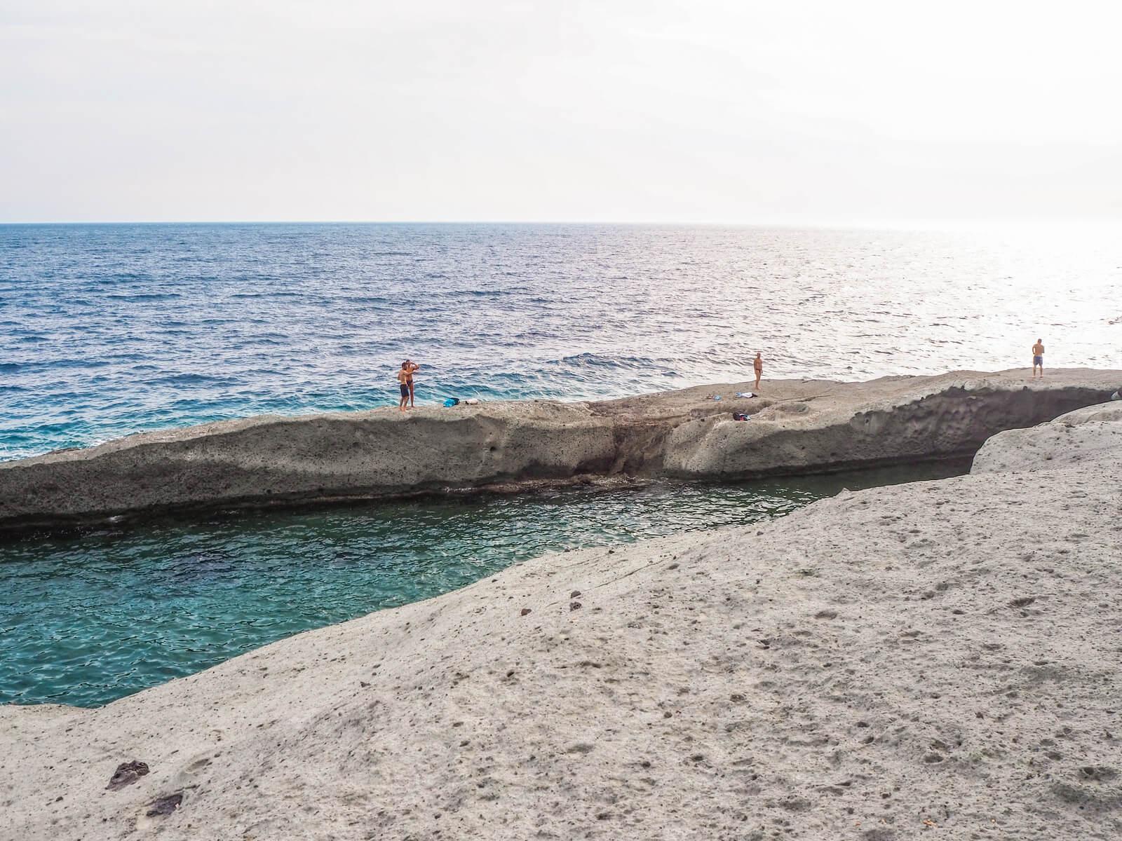 naturalny basen na sardynii